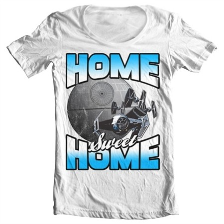Star Wars - Home Sweet Home T-shirt collo largo