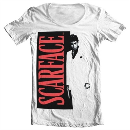 Scarface Poster T-shirt collo largo