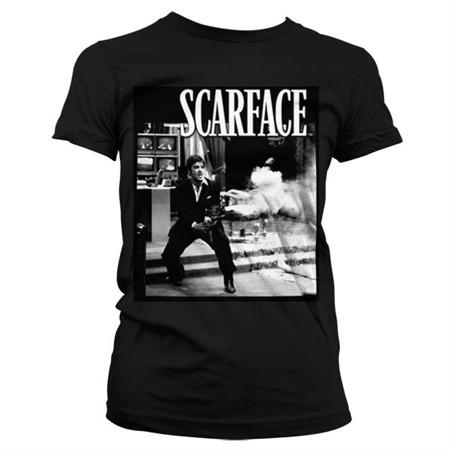 Scarface - Wanna Play Rough T-shirt donna
