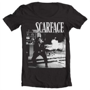 Scarface - Wanna Play Rough T-shirt collo largo