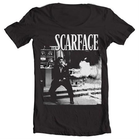 Scarface - Wanna Play Rough T-shirt collo largo
