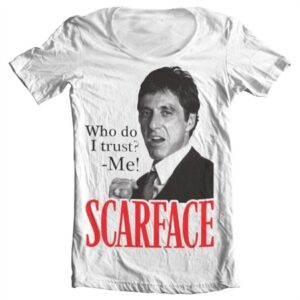 Scarface - Who Do I Trust T-shirt collo largo