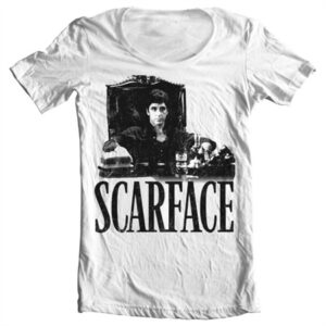 Scarface - Tony's Office T-shirt collo largo