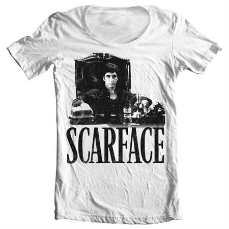 Scarface - Tony's Office T-shirt collo largo
