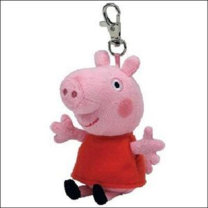 Portachiavi peluche Peppa Pig