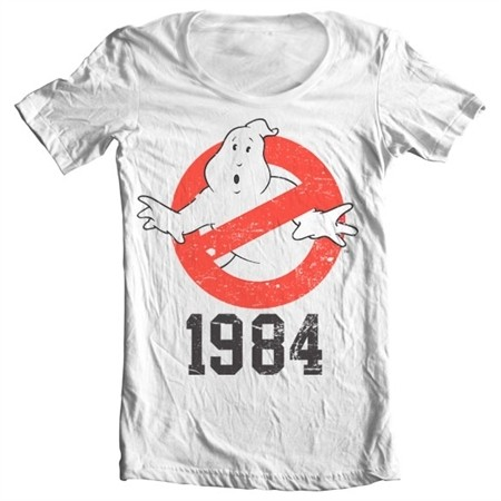 Ghostbusters 1984 T-shirt collo largo
