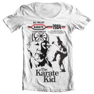 The Karate Kid T-shirt collo largo