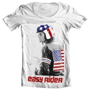 Easy Rider Wyatt T-shirt collo largo