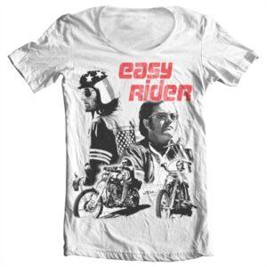 Easy Rider T-shirt collo largo