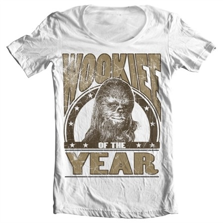 Wookiee Of The Year T-shirt collo largo