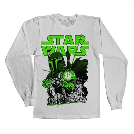 Vintage Boba Fett Long Sleeve T-shirt