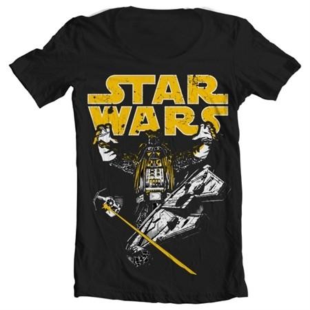 Vader Intimidation T-shirt collo largo