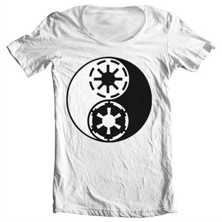 Rebels'n Imperials T-shirt collo largo