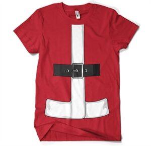 Santas Suit Cover Up T-Shirt