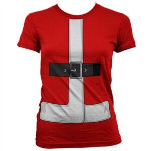 Santas Suit Cover Up T-shirt donna
