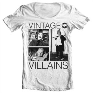 Vintage Villains T-shirt collo largo