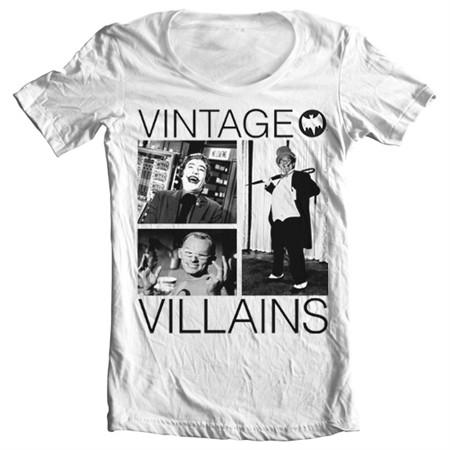 Vintage Villains T-shirt collo largo