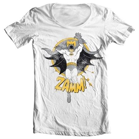 Batman Zamm! T-shirt collo largo
