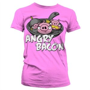 Angry Bacon T-shirt donna