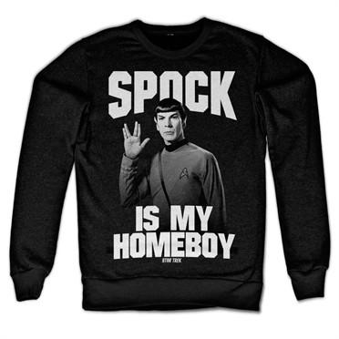 Spock Is My Homeboy Felpa
