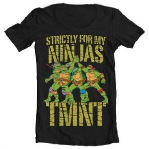 TMNT - Strictly For My Ninjas T-shirt collo largo