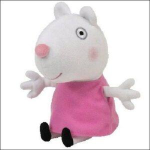 Peluche Suzy Peppa Pig 20 cm TY