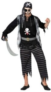 Costume adulto Pirata Fantasma
