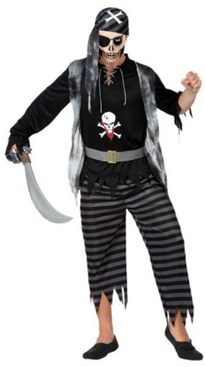 Costume adulto Pirata Fantasma