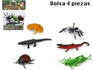 Set 4 insetti assoritti
