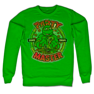 TMNT - Party Master Since 1984 Felpa