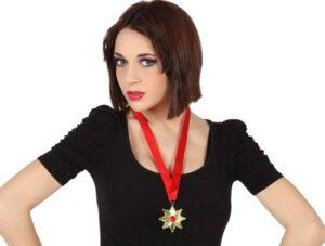 Collana con medaglia Dracula