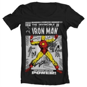 Iron Man Cover T-shirt collo largo