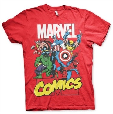 Marvel Comics Heroes T-Shirt