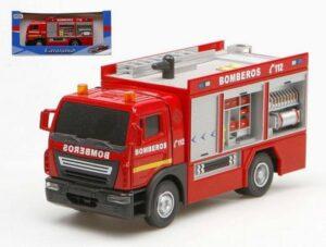 Camion Pompieri in metallo