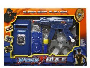 Set Polizia con pistola e accessori