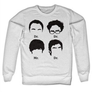 Big Bang Theory Prefix Heads Felpa