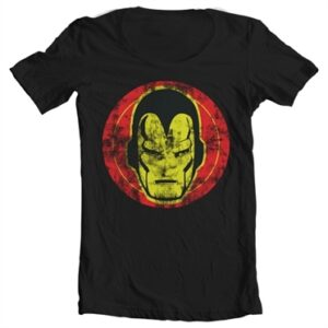 Iron Man Icon T-shirt collo largo