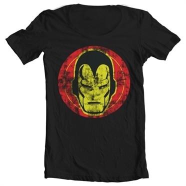Iron Man Icon T-shirt collo largo
