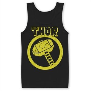 Thor Distressed Hammer Tank Top