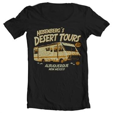 Heisenberg's Desert Tours T-shirt collo largo