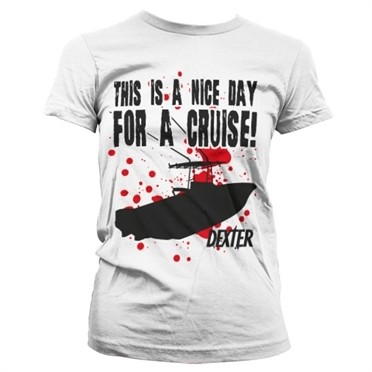 A Nice Day For A Cruise T-shirt donna