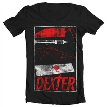 Dexter Signs T-shirt collo largo