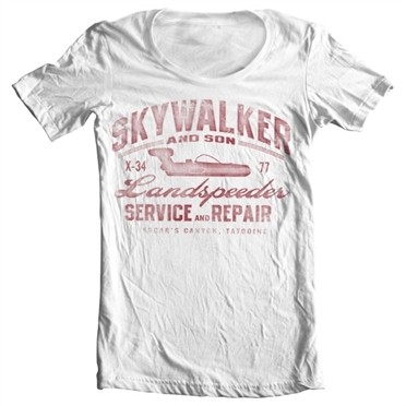 Skywalker And Son T-shirt collo largo