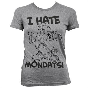 Mr Potato Head - I Hate Mondays T-shirt donna