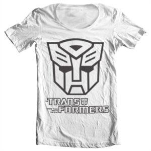 Transformers - Autobot Logo T-shirt collo largo