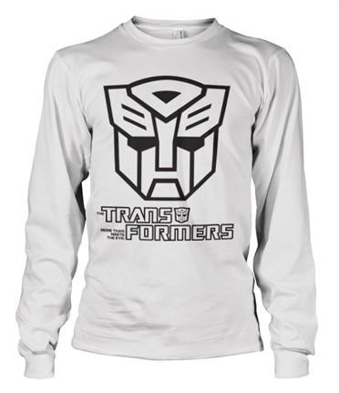 Transformers - Autobot Logo Long Sleeve T-shirt
