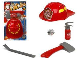 Elmetto Pompiere con accessori