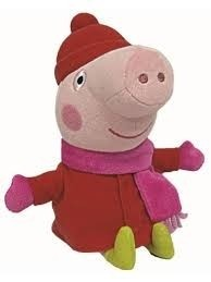 Peluche Peppa Pig Winter