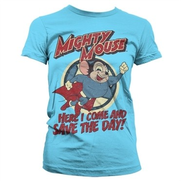 Mighty Mouse - Save The Day T-shirt donna