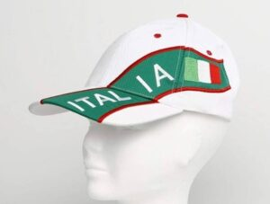 Cappellino Bandiera Italia adulto